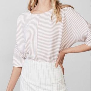 NWT Express Striped Cocoon Top Size M